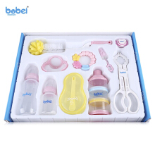 BOBEIELEPHANT 10pcs Feeding Bottle Accessories Baby Gift(Colormix)