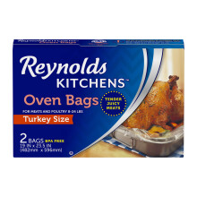 REYNOLDS Oven Bags Turkey 2bags