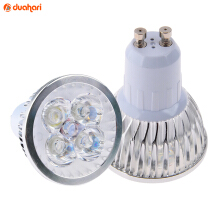 VAPING DREAM - GU10 4W 220V 240-320LM 4-LED Spotlight Bulb - Putih