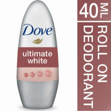DOVE Deodorant Roll On Advanced Care Ultimate White 40ml