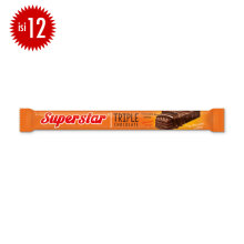 SUPERSTAR Triple Chocolate Box 18g x 12pcs