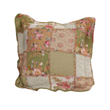 VINTAGE STORY SHABBY CUSHION COVER  45X45 PATCHWORK 1