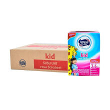 FRISIAN FLAG UHT Kid Strawberry Carton 115ml x 36pcs