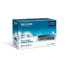 TP-LINK TL-SG108 8-Port 10/100/1000Mbps Desktop Switch