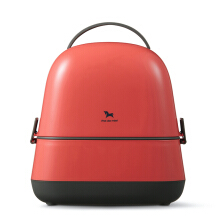POT DE MIEL Lunch Box Coral Red