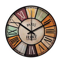 NAIL YOUR ART France Wall Clock/30x30Cm