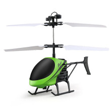 BESSKY Flying Mini RC Infraed Induction Helicopter Aircraft - Blue