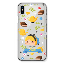 CASETOMIZE Classic Hard Case for Apple iPhone X - Chubby Alice Tsum