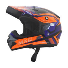 Cargloss MXC Pro Racing Helm Motocross - Orange Deep Black