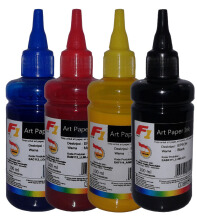 F1 Ink For Epson Artpaper 1 Set - 4 Warna CMYK
