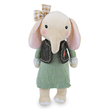 Metoo Cute Stuffed Cartoon Elephant Design Babies Plush Toy Doll for Kids Birthday / Christmas Gift