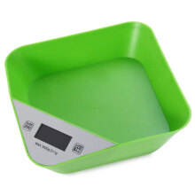 NS - K10 LCD 5000g / 1g Built-in Bowl Body Design Digital Tray Scale with Backlight