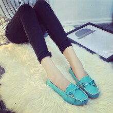 BESSKY Summer Women Flats Shoes Casual Flat Women Shoes Slips Flat Women's Shoes-