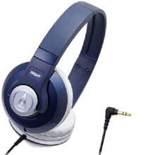 Audio Technica ATH-S500 Headphone Navy
