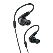 AUDIO TECHNICA ATH-E40 Professional In-Ear Monitor Headphones - Black