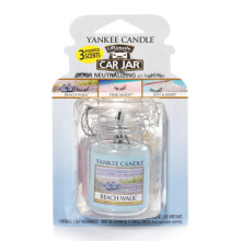 YANKEE CANDLE Car Jar Ultimate - Beach Walk - 30gr