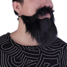 Fancy Dress Mustache & Fake Beard Facial Hair Party Costume Dress Up Halloween