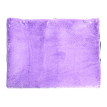 GLERRY HOME DÉCOR Square Lavender Fur Rug - 150x100Cm
