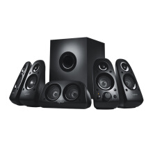 LOGITECH Z506 Surround Sound Home Theater Speaker System, External TV Speakers - Black