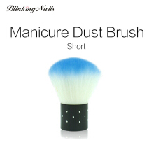 BlinkinNails Manicure Dust Brush Nail Cleaner Brush Nails Tool Soft Nail Art Brushes 6 Colors
