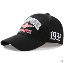 BAI B-225 Adjustable Baseball Cap MBL Hiphop cap with SPITFIRE-SPARK design Black color