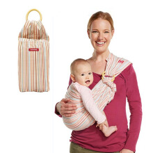 MAMAWAY Baby Sling Thousand-Layer Cream