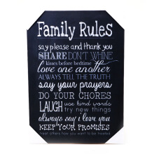 BLOOM & BLOSSOM Wall Poster Small 28 X 20Cm (Family Rules#4)
