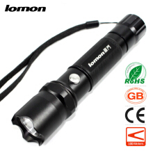Lomon LED Flashlight 18650 Rechargeable Battery + Charger Torch Waterproof Portable Light Tactical Flashlight LED Camping Lamp Lantern