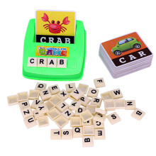 BESSKY English Spelling Alphabet Letter Game Early Learning Educational Toy Kids - Multicolor