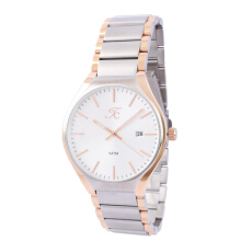 Teiwe Collection TC-CG3003 Jam Tangan Pria Stainlless Steel - Putih