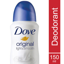DOVE Deodorant Spray Original Light & Smooth 150ml