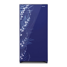 SHARP Kulkas 1 Pintu [184 L] SJ-X195MG-FB - Biru