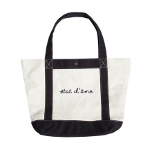 BLANC & ECLARE Tote Bag - White  OS [BE-A15-SS151512WH-WHT-OS]