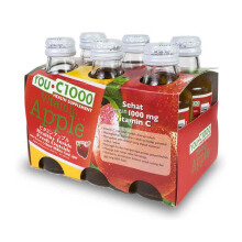 YOU C 1000 Apple Bundle 140ml x 6 pcs