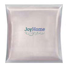 JOYHOME Face Towel Two Stripe Border (33cm x 33cm) 450 Gsm - Beige