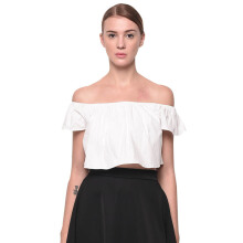 LOOKBOUTIQUESTORE Ara Crop Top - White