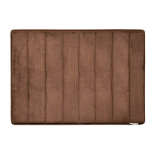Microdry Memory Foam Bath Mat 43 X 61 cm - D.Choco (Small) By Terry Palmer