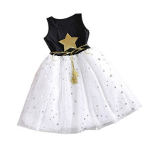 BESSKY New Flower Girl Princess Dress Kid Baby Party Wedding Pageant Tulle Tutu Dresses_