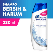 HEAD & SHOULDERS Shampoo Clean and Balanced 330 ml