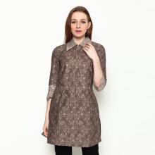 A&D Tunik Batik 3/4 sleeve MS 800 - Brown