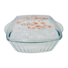 BORCAM Casserole Square With Lid 59049 2,6Ltr