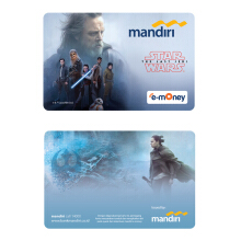 MANDIRI E-Money Star Wars: The Last Jedi - Luke Skywalker