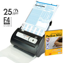 PLUSTEK Scanner SmartOffice PS286Plus + Software Periksa Nilai