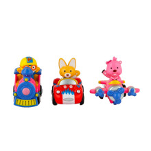 PORORO  Assorted Small Vehicles Car, Airplane, Train