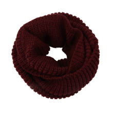 Women's Winter Warm Infinity 2Circle Cable Knit Cowl Neck Long Scarf Shawl