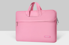 TAIKESEN laptop bag A-1654 Simple Design 14inch- Pink color