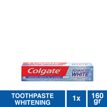COLGATE Pasta Gigi Advanced Whitening 160gr