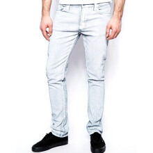 NUDIE JEANS Tube Tom Unisex - White Painted