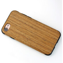 WK Design Wood Case Back Cover iPhone 7 Creative Case Microfiber - Design 2
