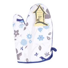 ARNOLD CARDEN Oven Mitts Bird Tree Right Side - Blue 17x25cm